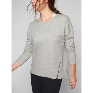 Athleta Zippered Pullover Sweater